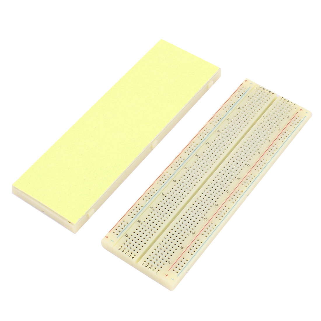 2Pcs MB-102 830 Point Solderless Breadboard PCB Test Bread Board
