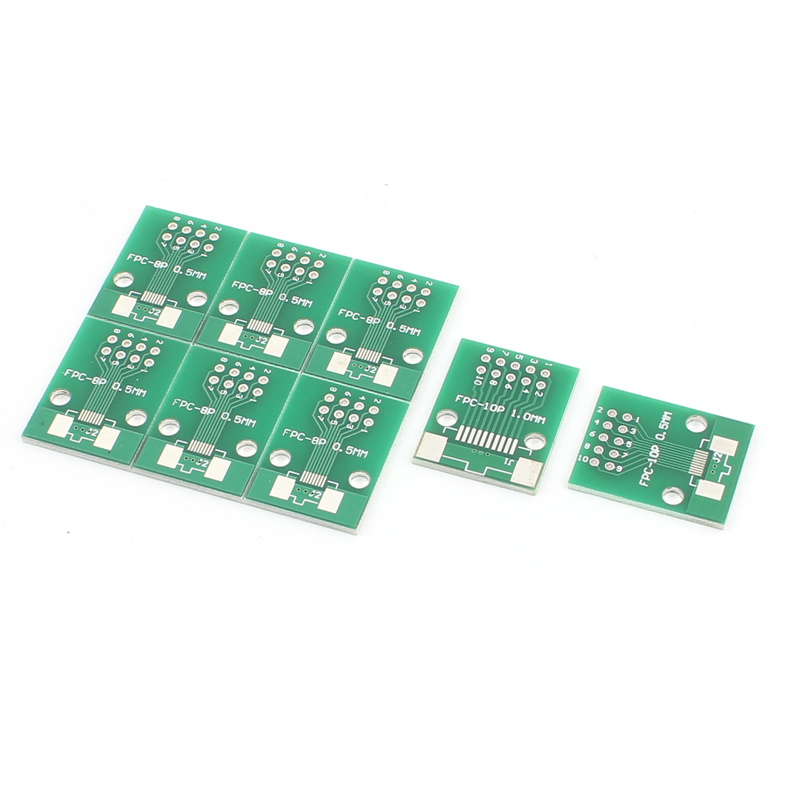 "8Pcs 20 x 26mm/0.8"" x 1"" FPC 10Pins Adapter PCB Converter Board"