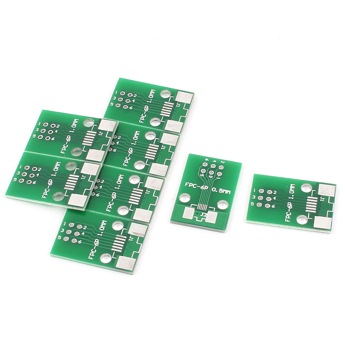 "8Pcs 17 x 26mm/0.7"" x 1"" FPC 6Pins Adapter PCB Converter Board"