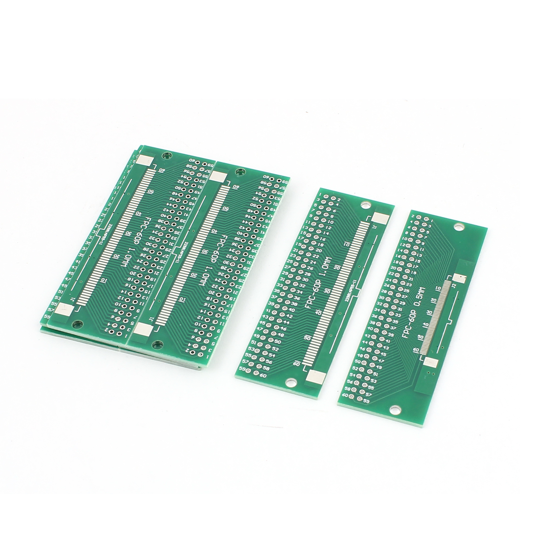 "8Pcs 80 x 26mm/3.15"" x 1"" FPC 60Pins Adapter PCB Converter Board"