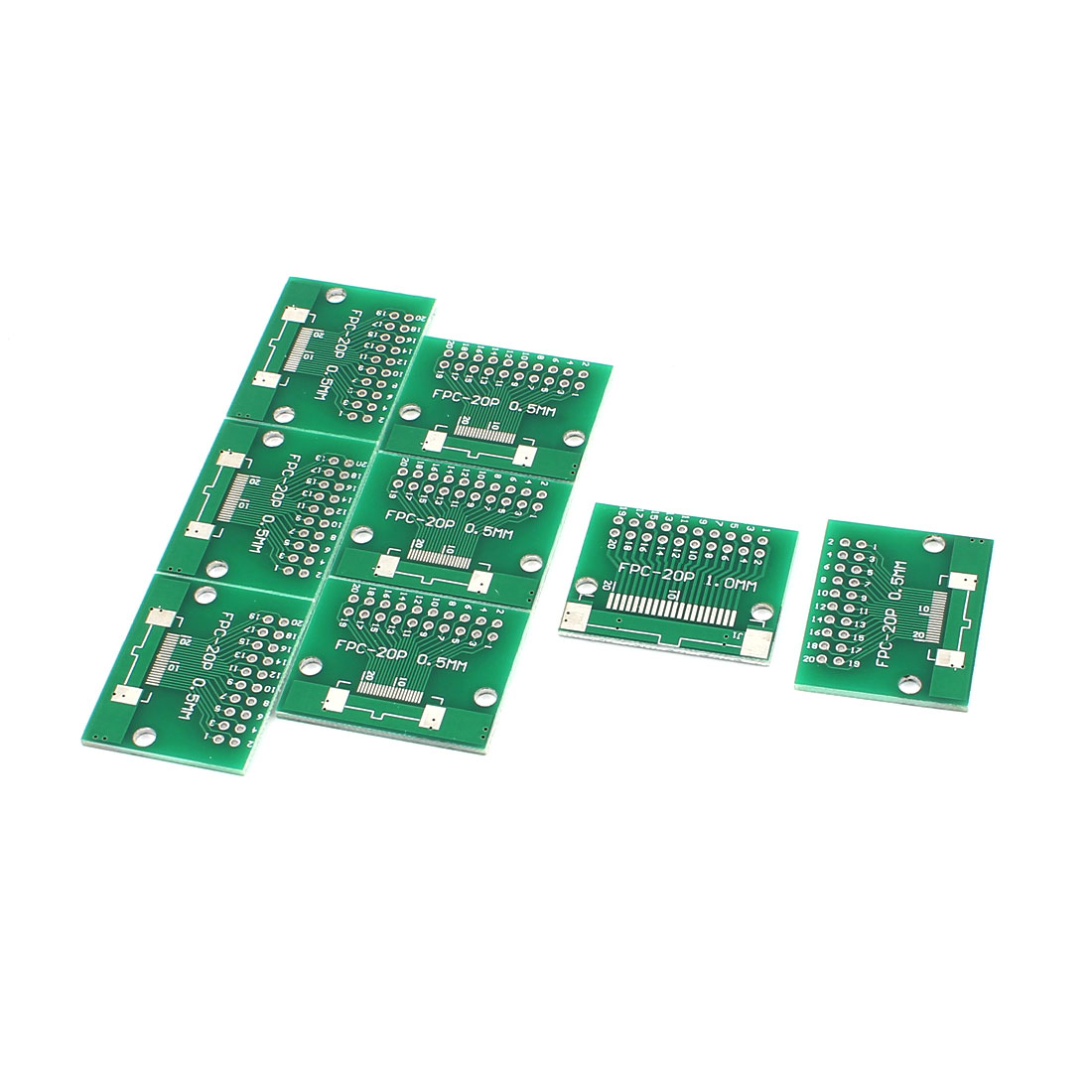 "8Pcs 32 x 26mm/1.3"" x 1"" FPC 20Pins Adapter PCB Converter Board"