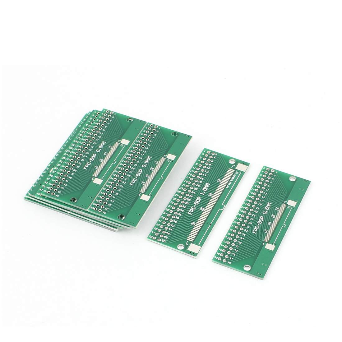 "12Pcs 65 x 26mm/2.6"" x 1"" FPC 50Pins Adapter PCB Converter Board"