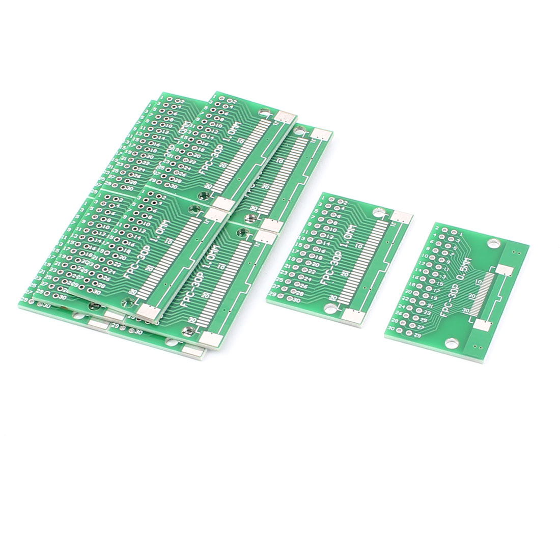 "12Pcs 40 x 26mm/1.6"" x 1"" FPC 30Pins Adapter PCB Converter Board"