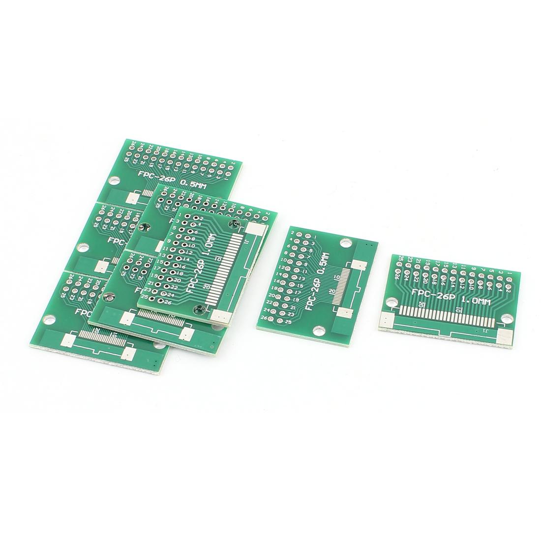 8Pcs 38 x 26mm 26Pins Adapter PCB Converter Board