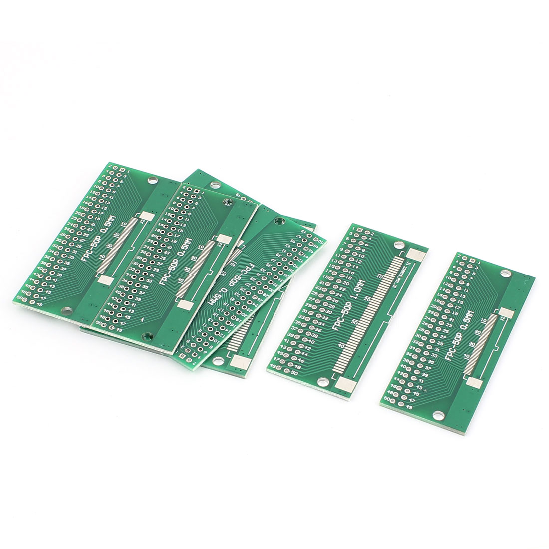 8Pcs 65 x 26mm 50Pins Adapter PCB Converter Board