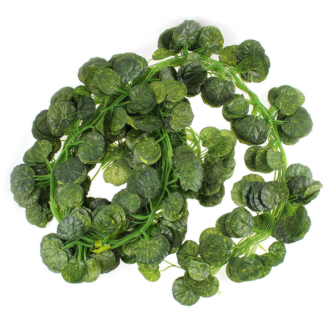 Artificial Ivy Leaf Garland Plants Vine Fake Foliage Decor 12 Pcs