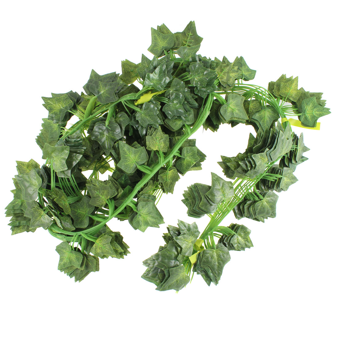 Artificial Fake Hanging Boston Ivy Vine Bedroom Party Decor 12 Pcs