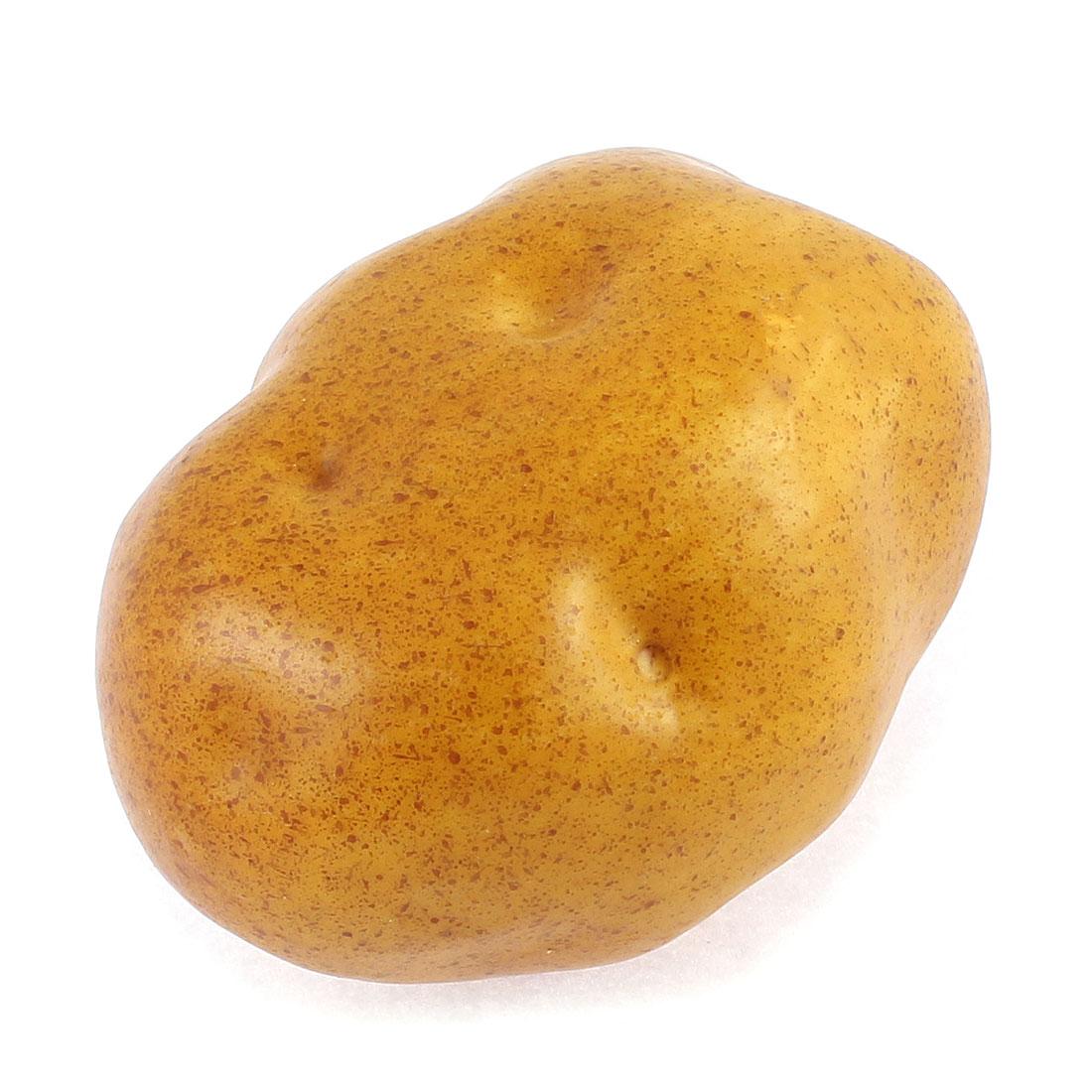 Artificial Brown Potato Decorative Fake Vegetable