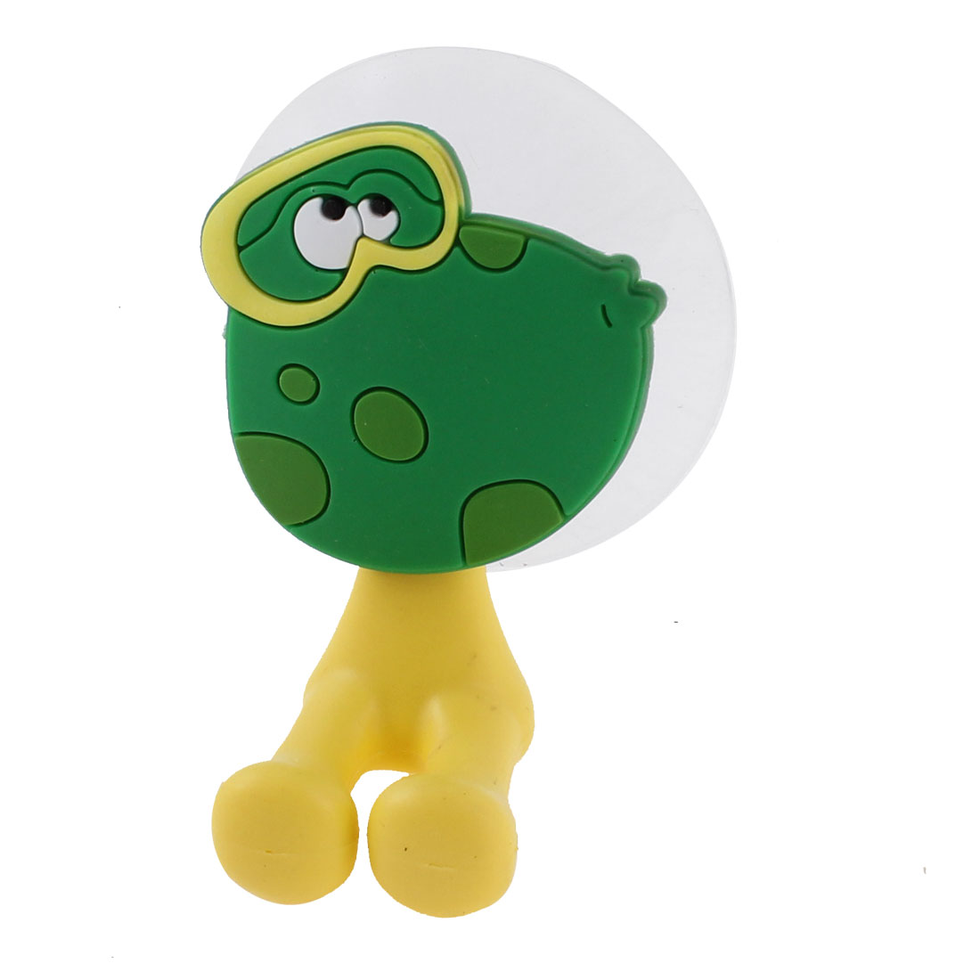 Household Silicone Suction Cup Frog Style Toothbrush Holder Hook Hanger