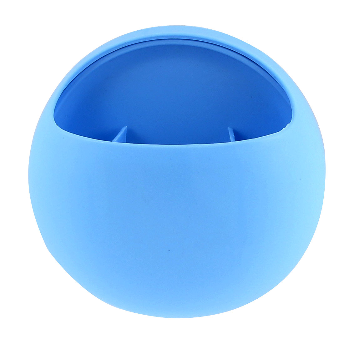 Home Bathroom Wall Suction Cups Toothbrush Holder Organizer Blue