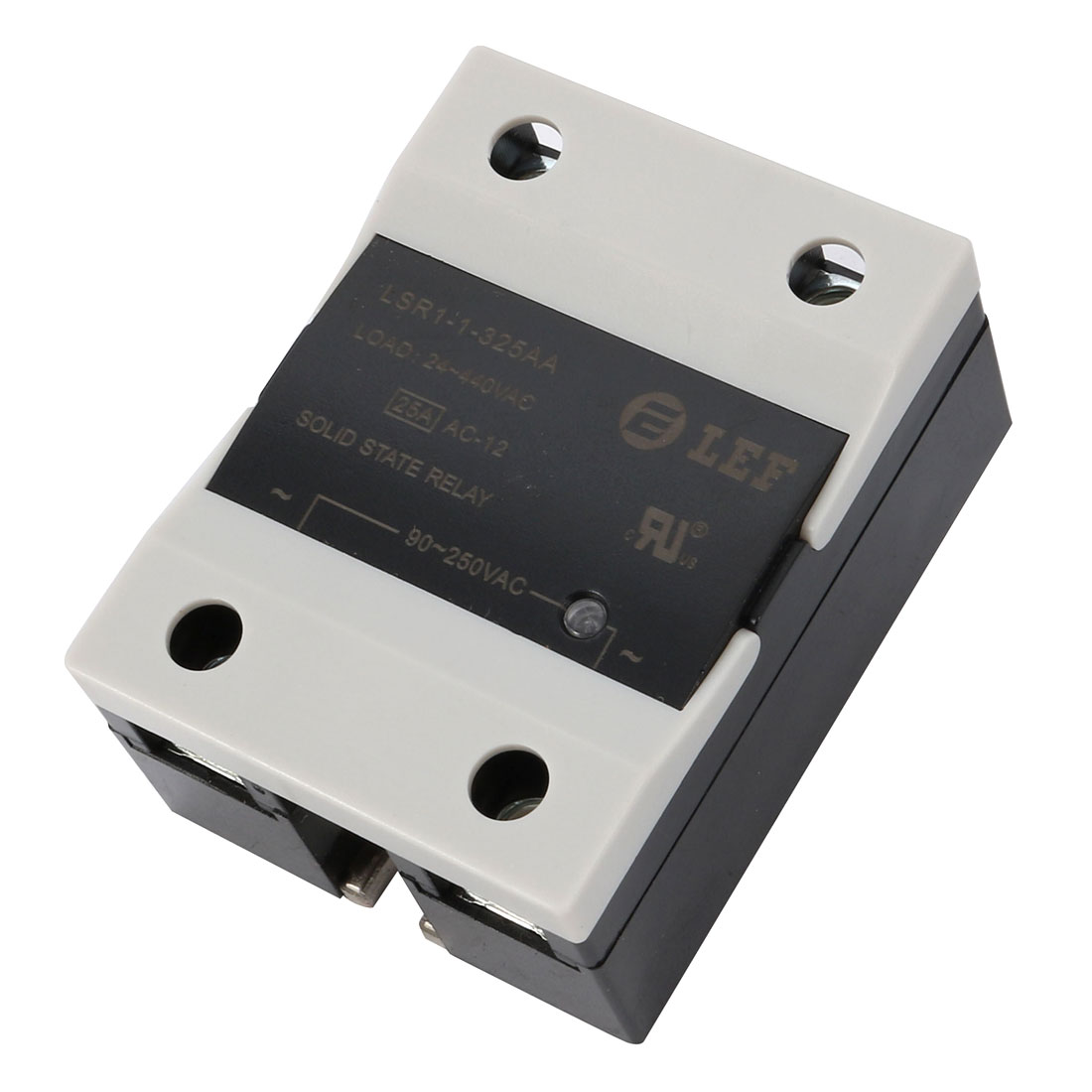 Solid State Relay Module SSR-25AA AC-AC 25A 90-250VAC/24V-440VAC