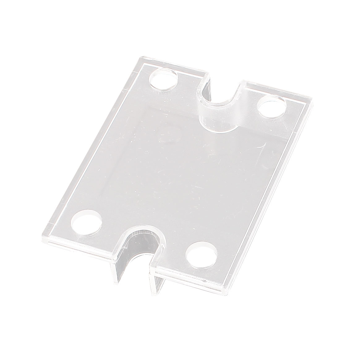 Single Phase Plastic Solid State Relay SSR Safety Clear Cover