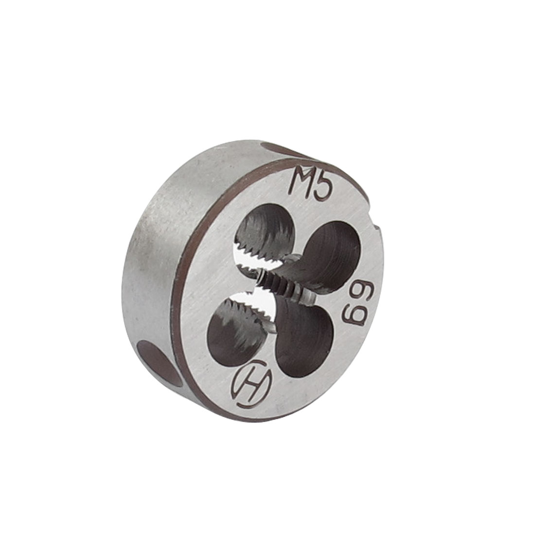 20mm Outside Dia M5 Coarse Thread Cutting Tool Round Die Gray