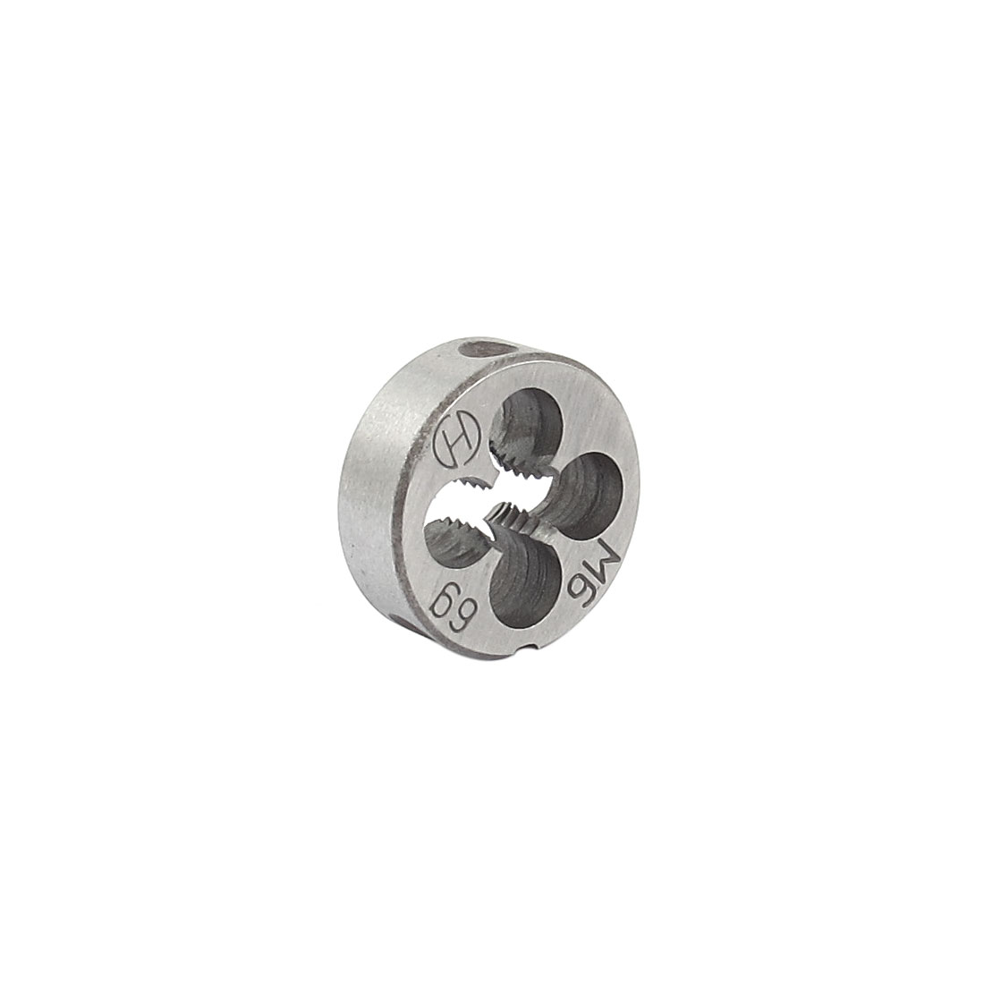 20mm Outside Dia M6 Coarse Thread Cutting Tool Round Die Gray