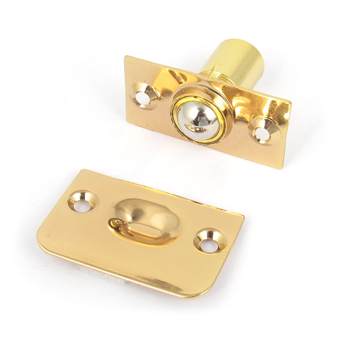 Hardware Closet Door Ball Catch Latch Catcher Gold Tone