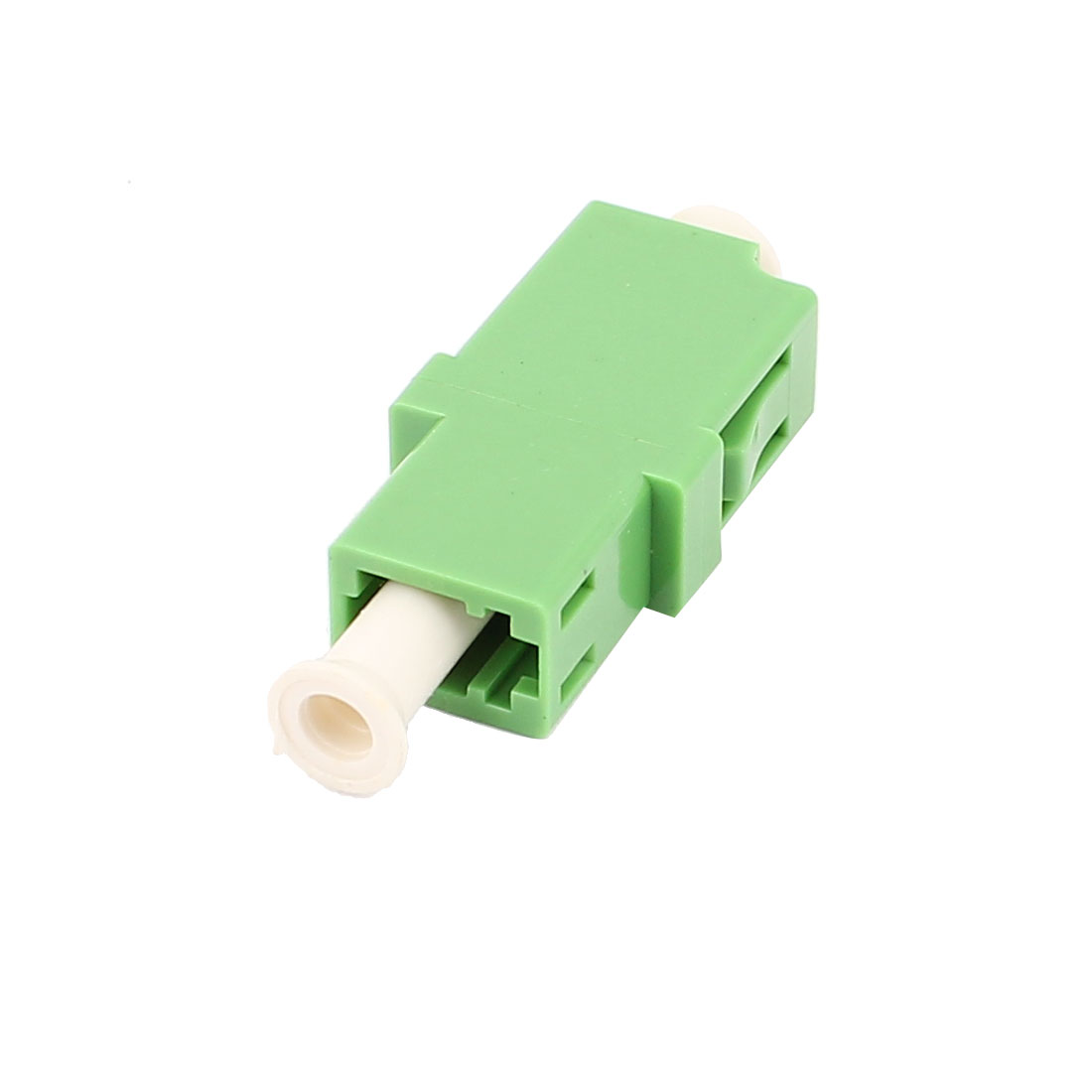 FTTH LC/APC SM Simplex Fibre Optical Connector Bare Fiber Optic Adapter Green