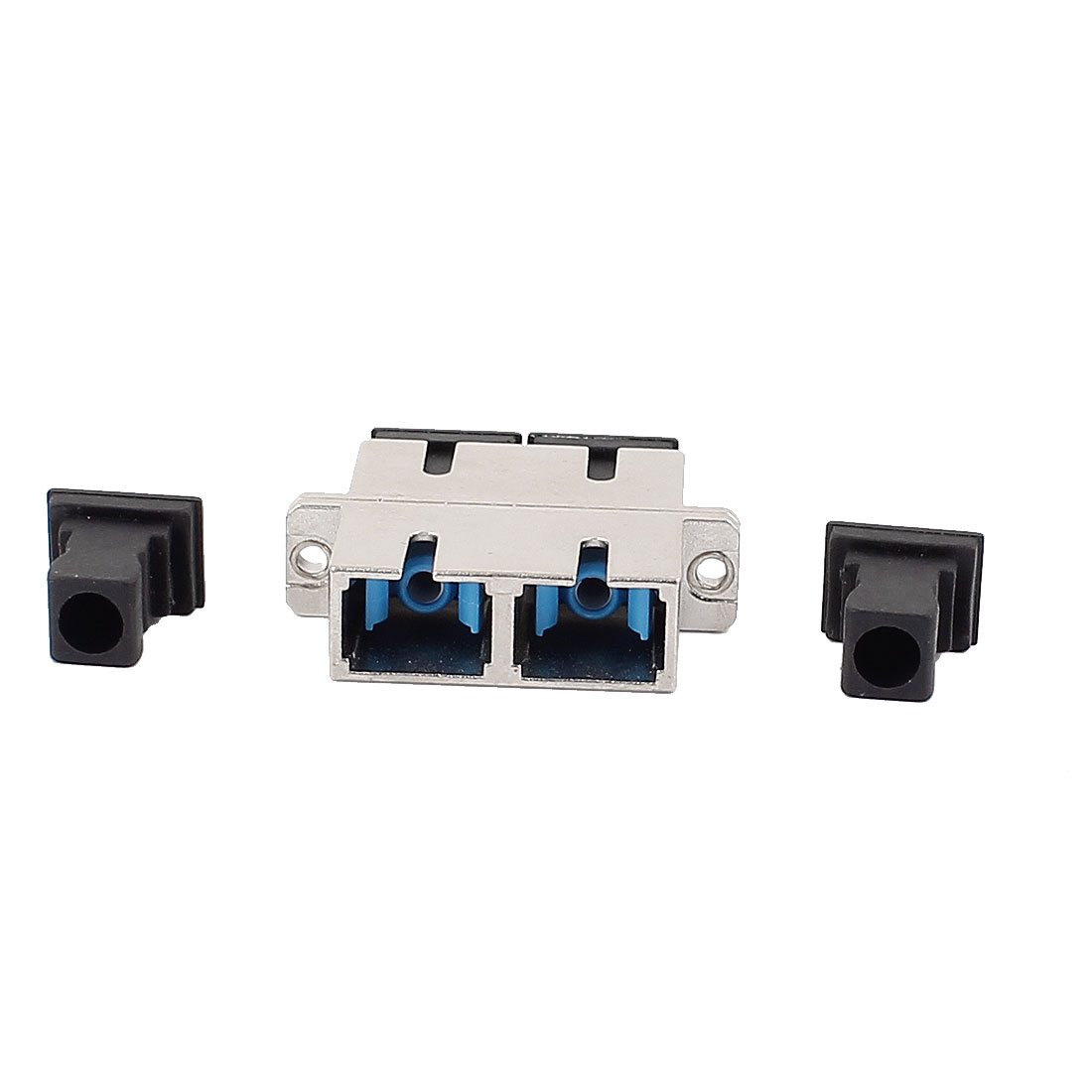SM/MM SC/PC/APC Duplex Fibre Coupler Flange Adapter Optical Fiber Connector