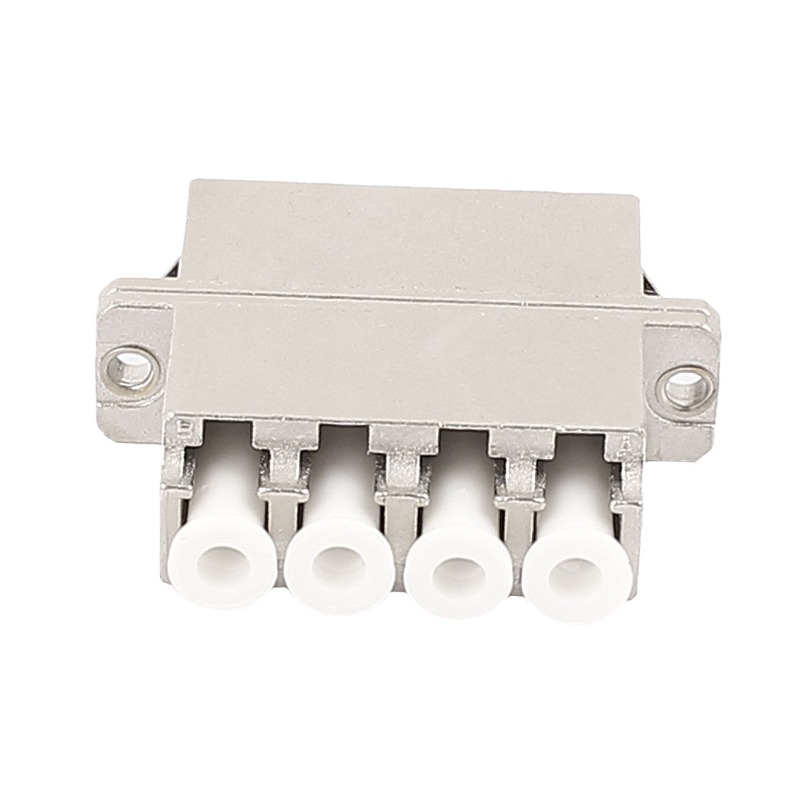 FTTH LC/PC/APC MM/SM 4-Port Fibre Optical Connector Bare Fiber Optic Adapter
