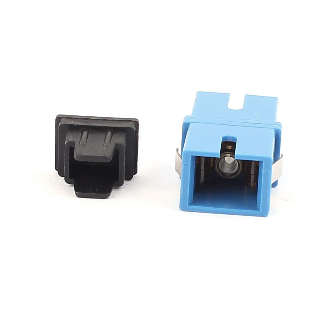 Multi-mode SC-SC UPC Simplex Fibre Coupler Flange Adapter Optical Fiber Connector