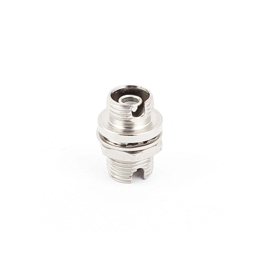 Small D type FC-FC Fibre Coupling Flange Connectors Optical Fiber Adapters