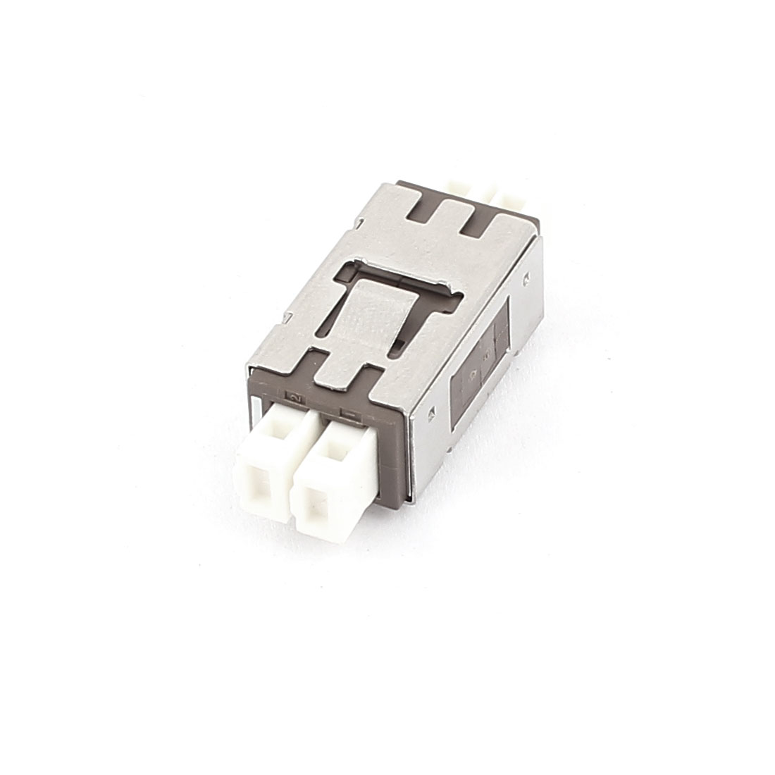 FTTH MU SM/MM Duplex Fibre Optical Flange Bare Fiber Optic Adapter