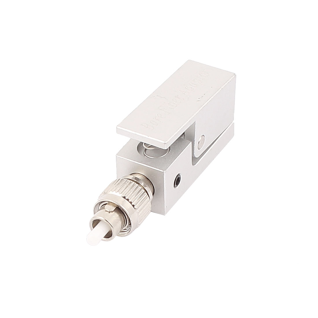 FTTH Fibre Optical Connector Square FC Bare Fiber Optic Adapter
