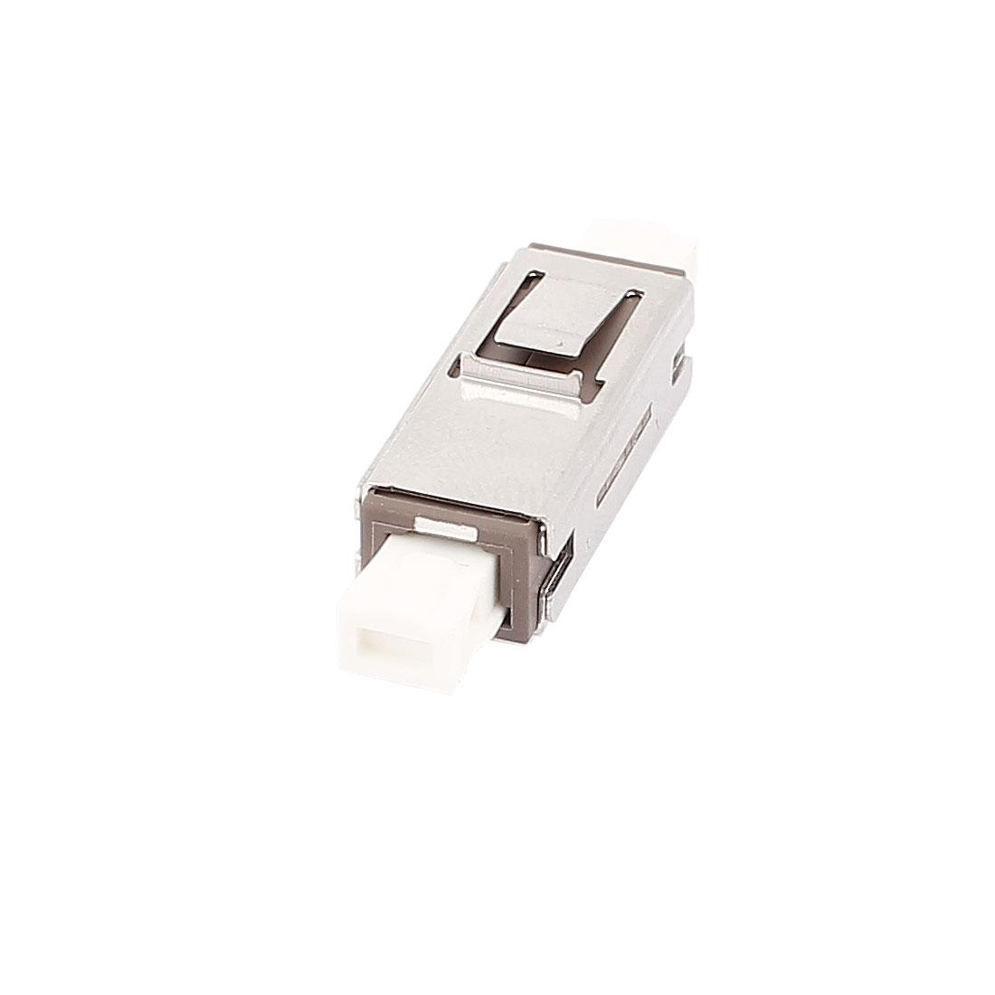 FTTH MU SM/MM Simplex Fibre Optical Flange Bare Fiber Optic Adapter