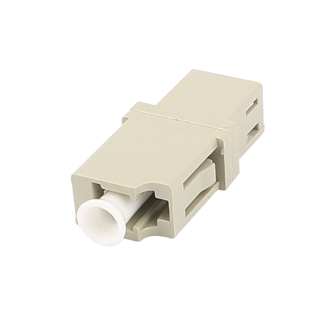 FTTH LC/UPC SM Simplex Fibre Optical Connector Bare Fiber Optic Adapter Gray