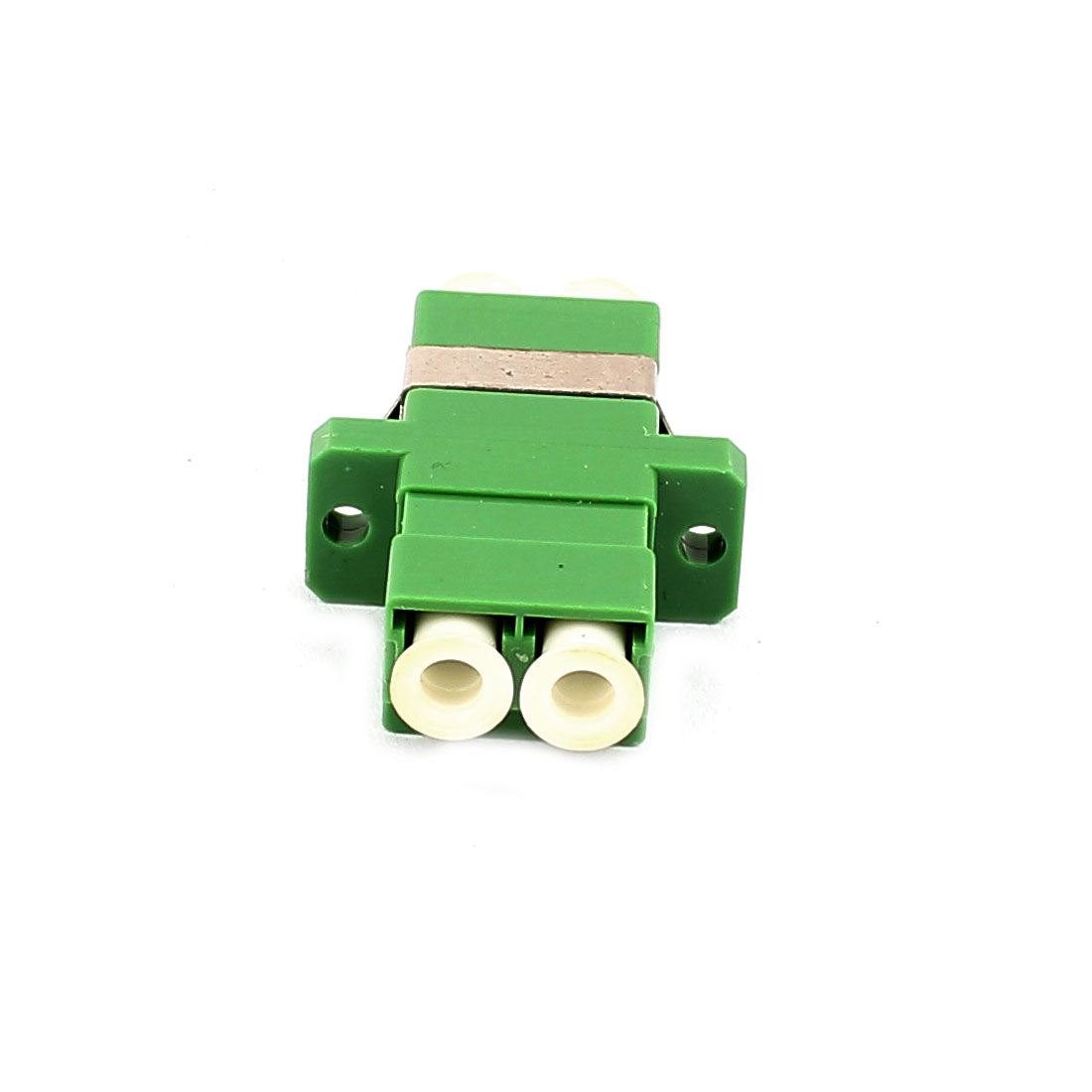 FTTH LC/APC SM Duplex Fibre Optical Duplexer Bare Fiber Optic Adapter