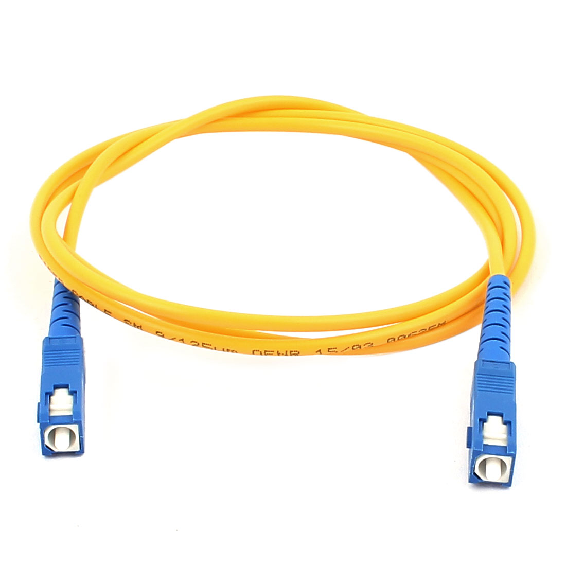 1M Single-mode Fibre Jumper Wire SC-SC Optical Fiber Patch Cable Cord SM SX