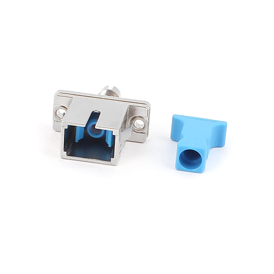 SM/MM ST-DIN Simplex Fibre Coupler Flange Adapter Optical Fiber Connector