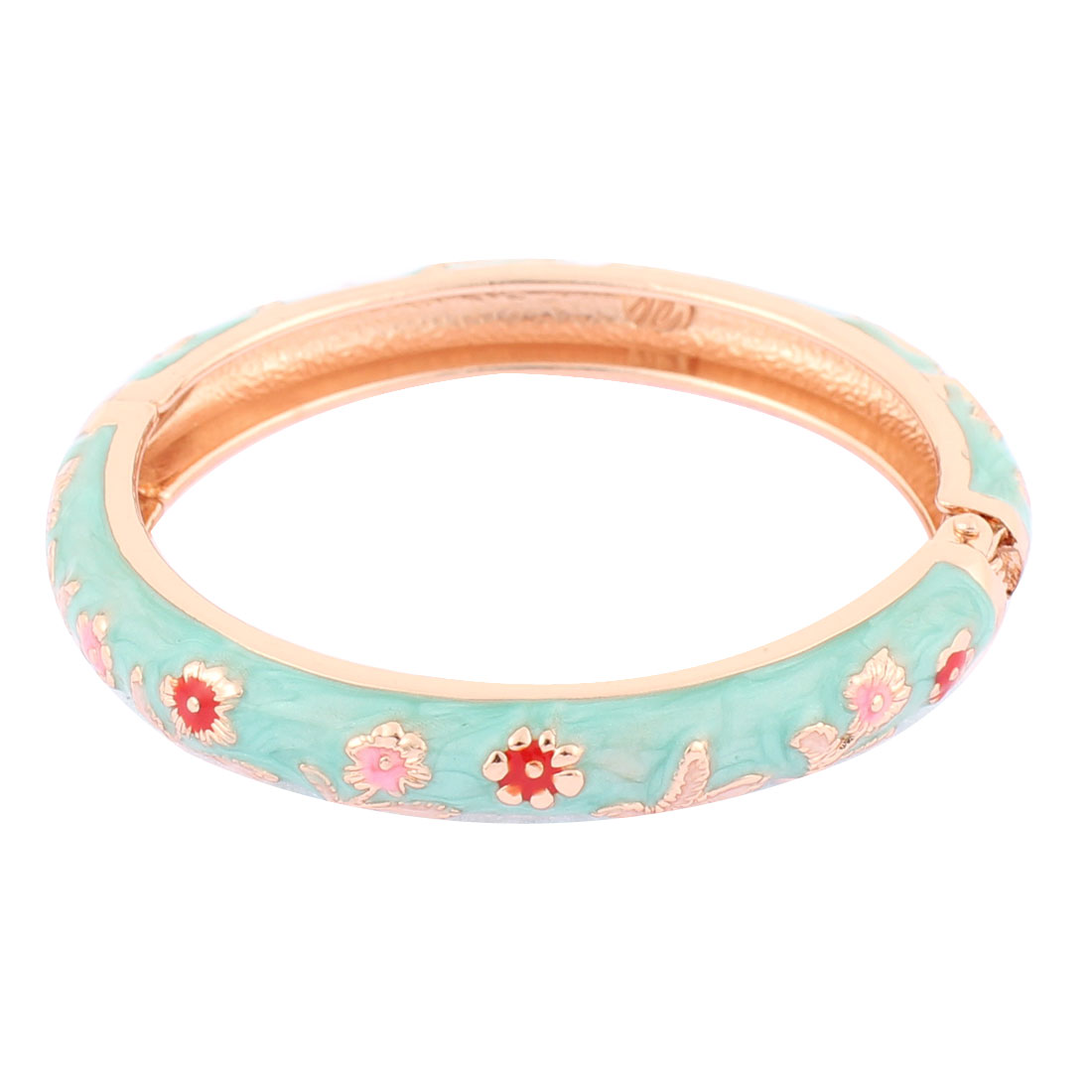 Girl Floral Carve Cuff Open Bracelet Bangle Jewelry Wedding Party Gift
