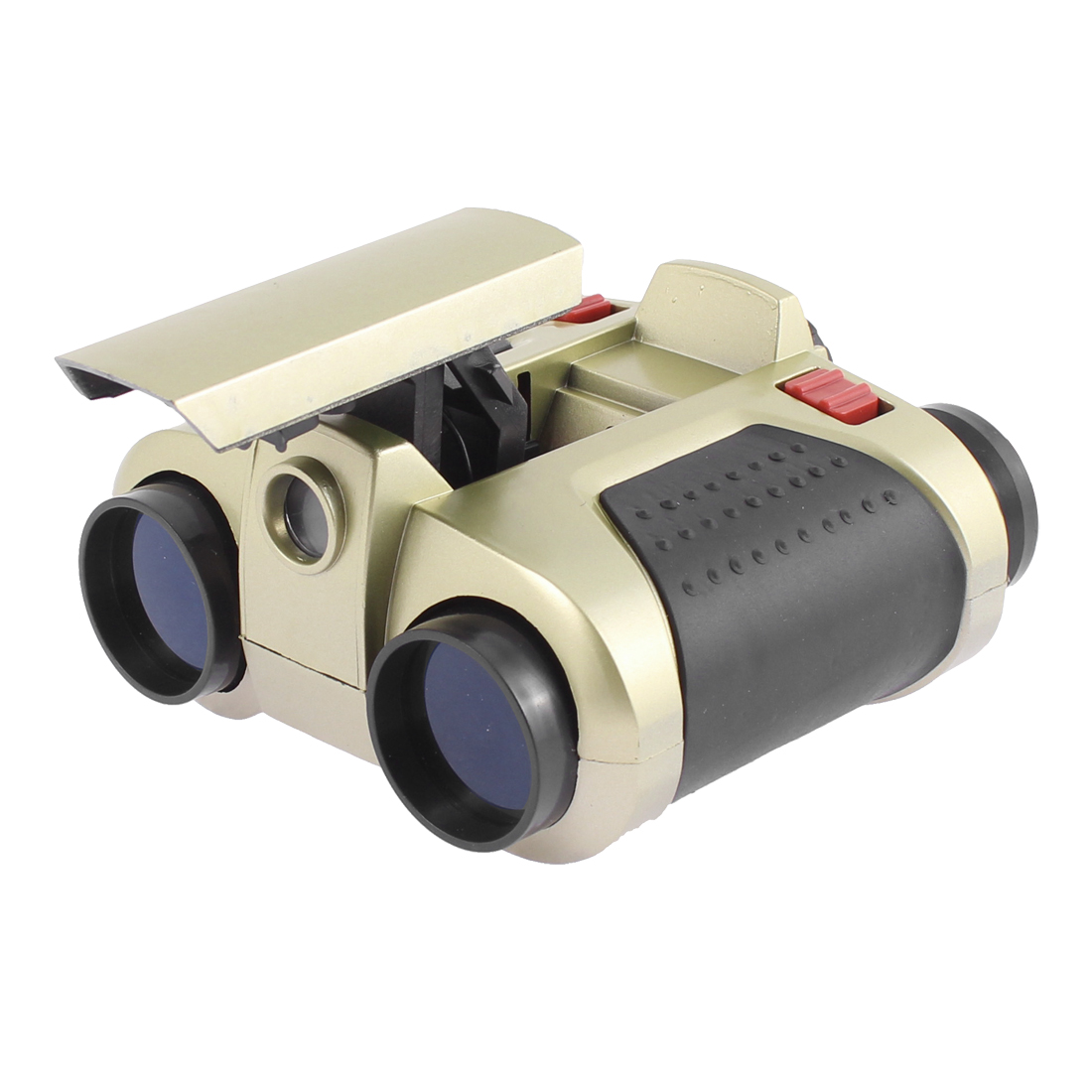 Night Vision 4x30mm Portable Pocket Binocular Telescope w Pop-Up Light