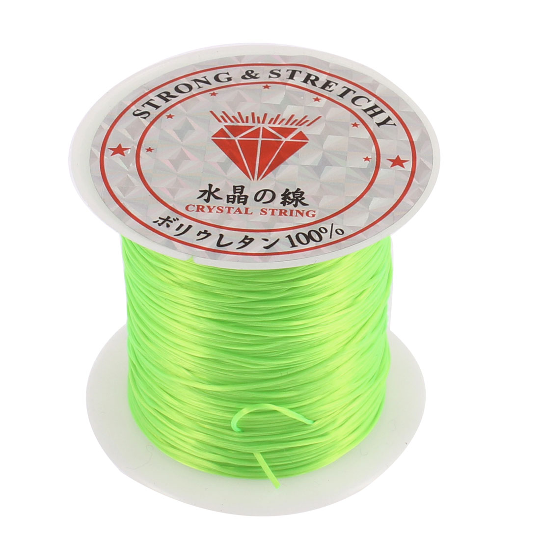 0.5mm DIY Beading Jewelry Making Elastic Cords String Threads Green