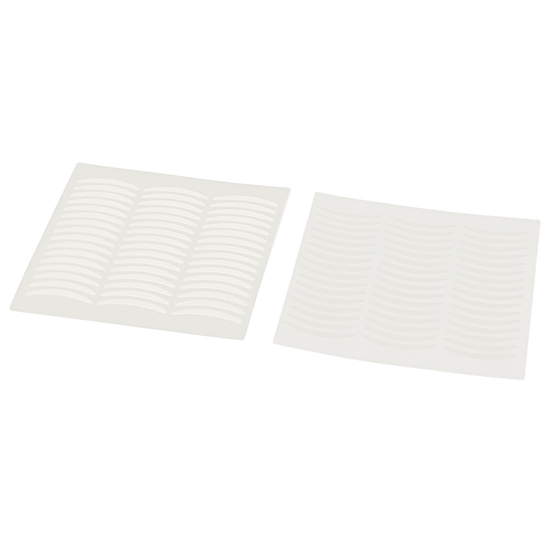 120 Pairs Narrow Double Eyelid Sticker Tape Makeup Tool Clear White