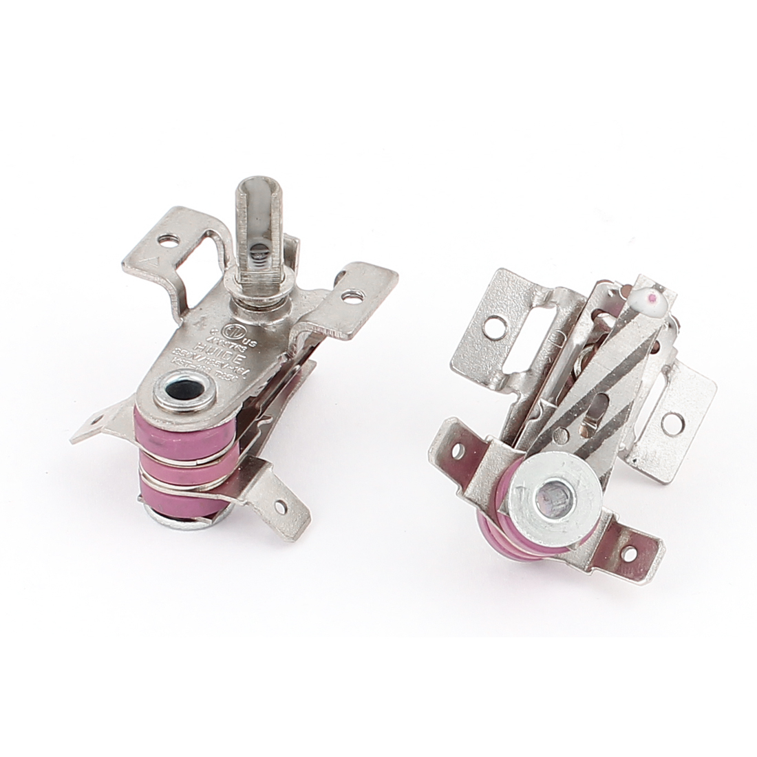 AC 250V/125V 16A Electric Bimetallic Adjustable Thermostat Heating Limiter 2pcs