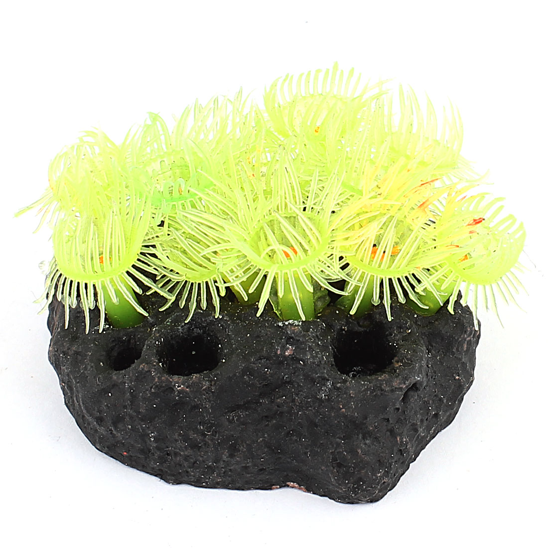 Aquarium Soft Silicone Artificial Sea Plant Coral Decor Flower Ornament