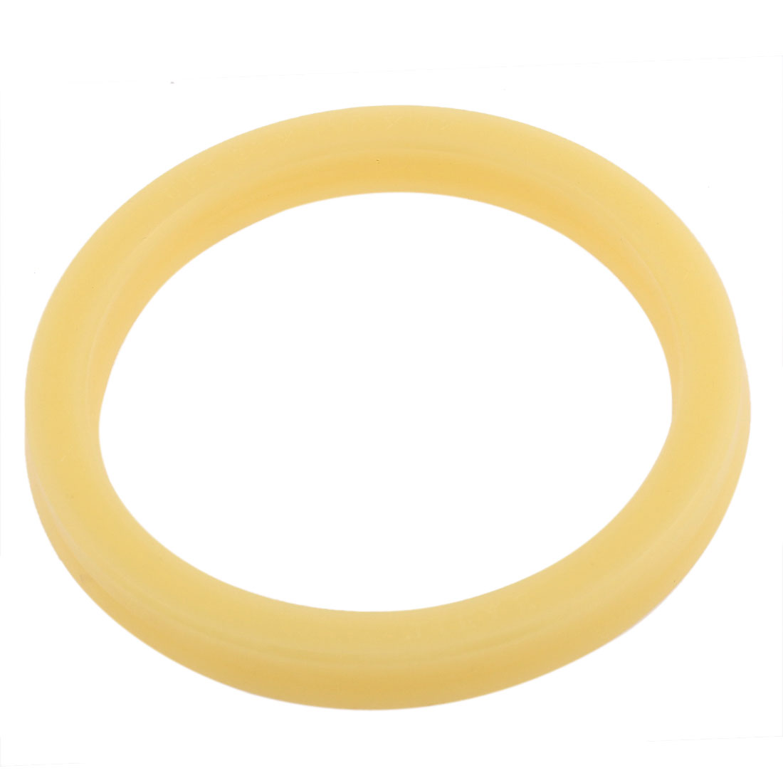 90mm x 110mm x 12mm Round Polyurethane PU Oil Dust Seal Rings Sealing Gasket Washer Beige