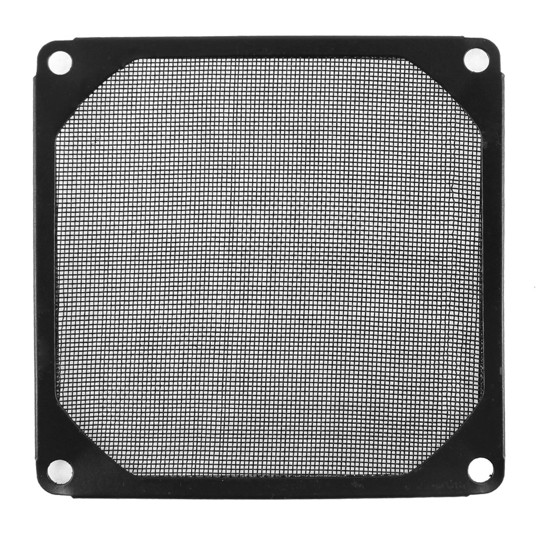 93mm x 93mm Computer PC Dustproof Cooler Fan Case Cover Dust Filter Mesh Black