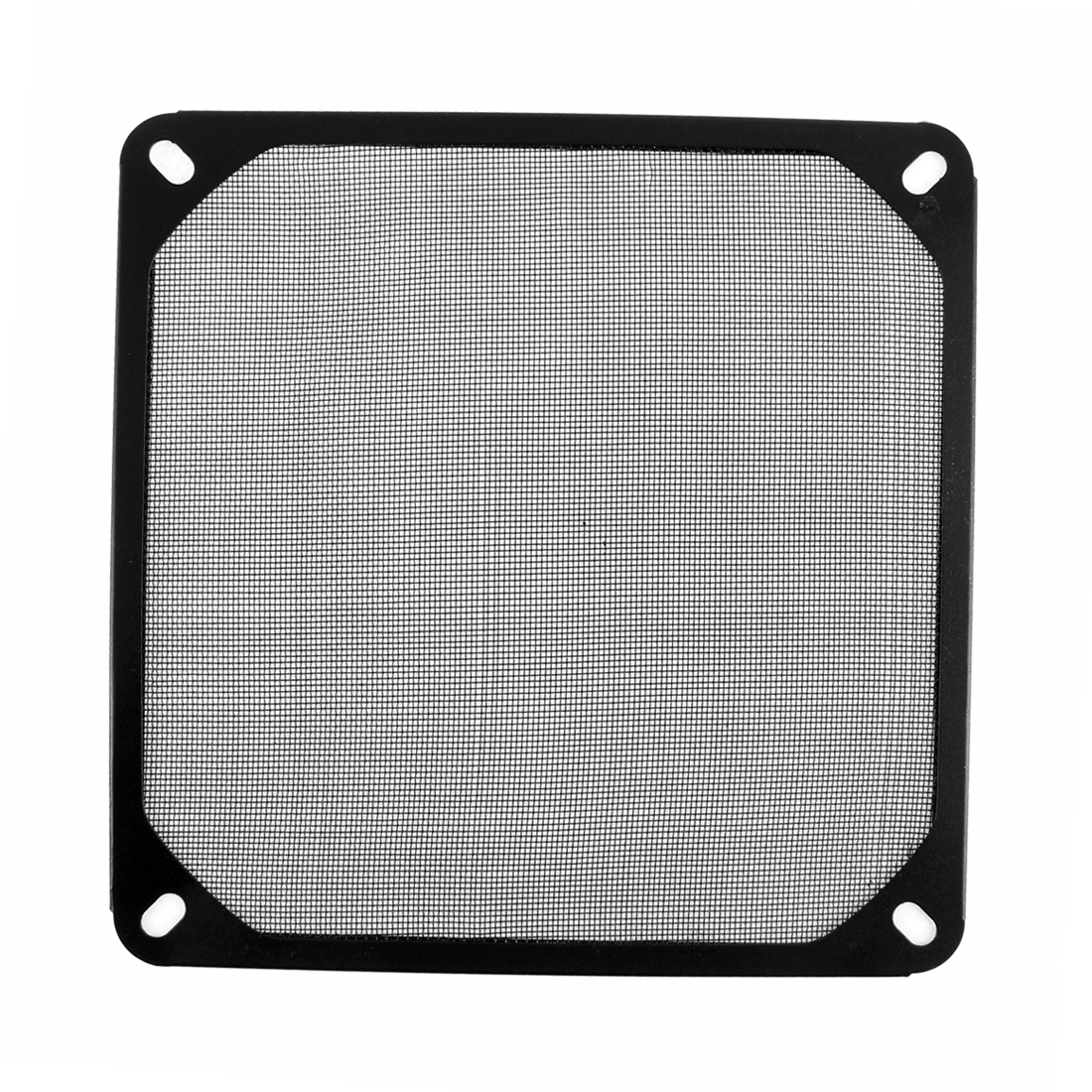 140mm x 140mm Computer PC Dustproof Cooler Fan Case Cover Dust Filter Mesh Black