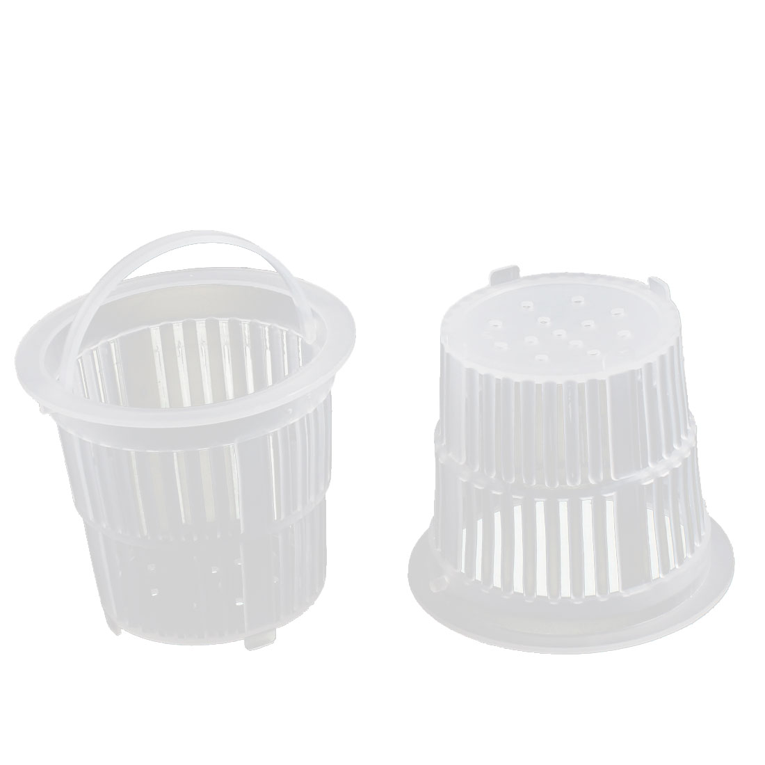 Sink Basin Plastic Drainer Strainer Food Residue Waste Stopper Filter Basket 2pcs