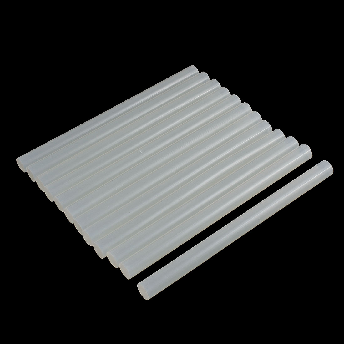 12 Pcs Translucence Crafting Model Hot Melt Glue Adhesive Sticks 150mm x 11mm