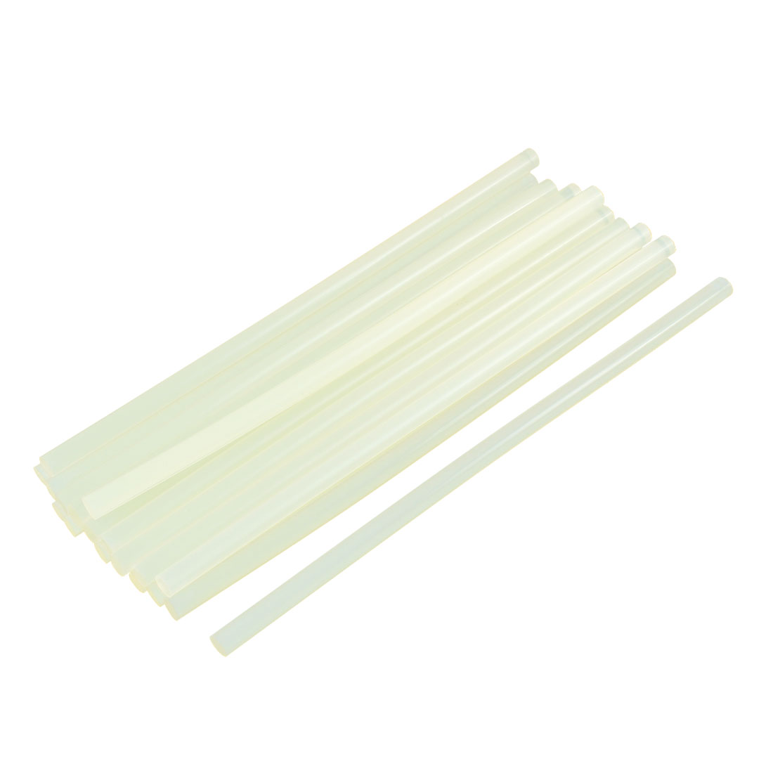 Translucence Crafting Model Hot Melt Glue Adhesive Sticks 200mm x 7mm 20pcs