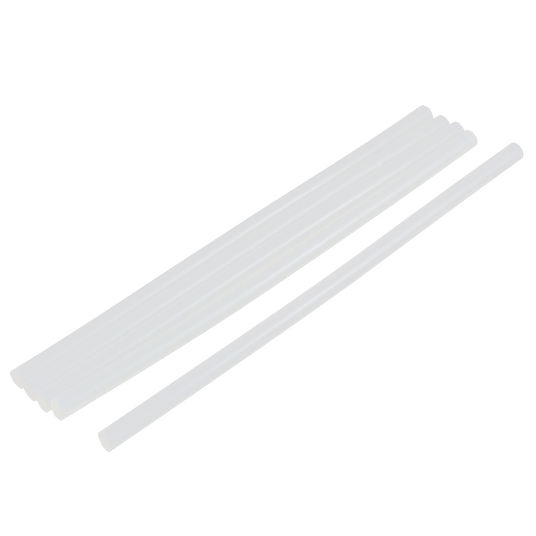 5 Pcs Hot Melt Glue Adhesive Sticks 200mm x 7mm for Electric Heating Gun