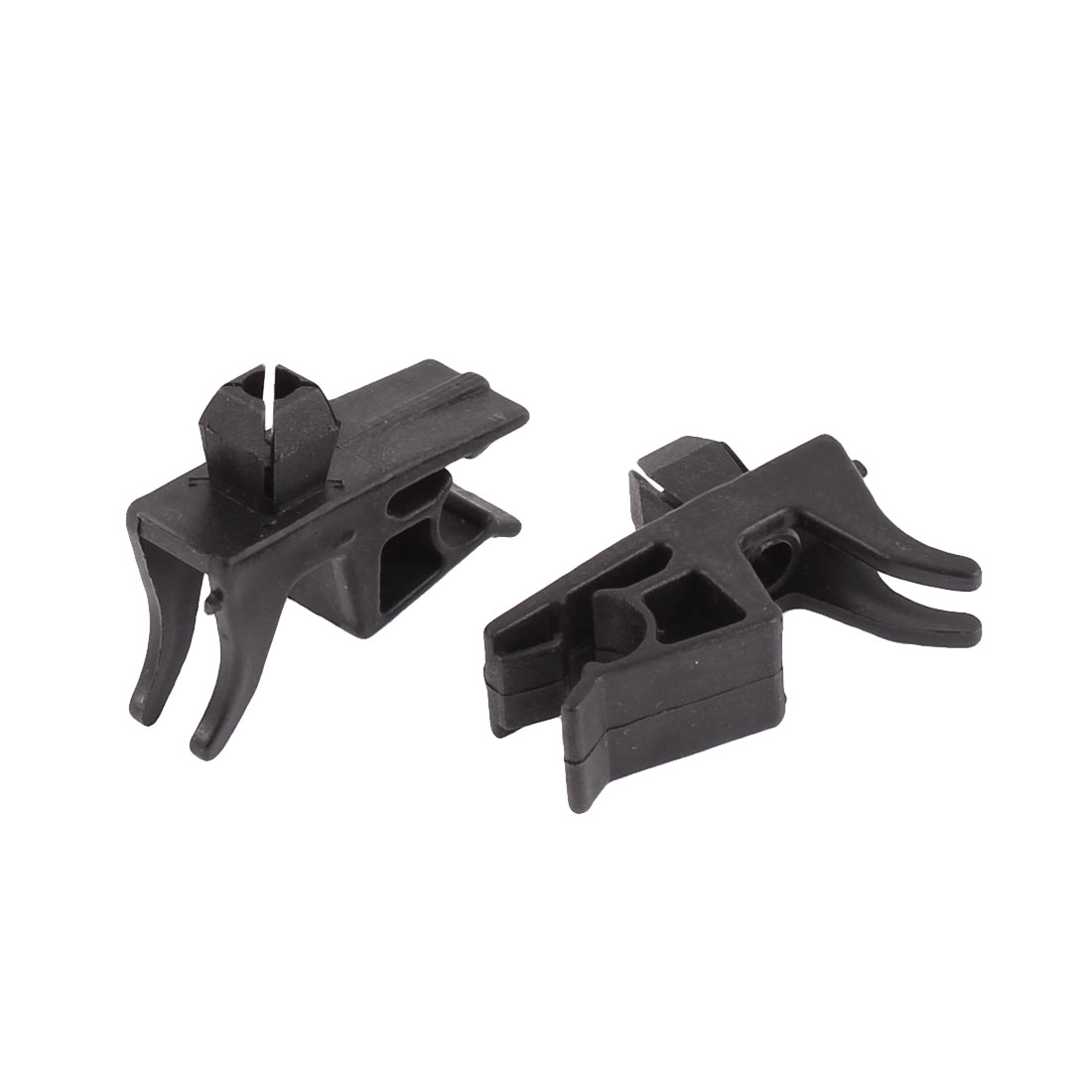 Truck Car Bonnet Hood Support Prop Arm Holder Clamps Clips 2pcs for 8mm Dia Rod