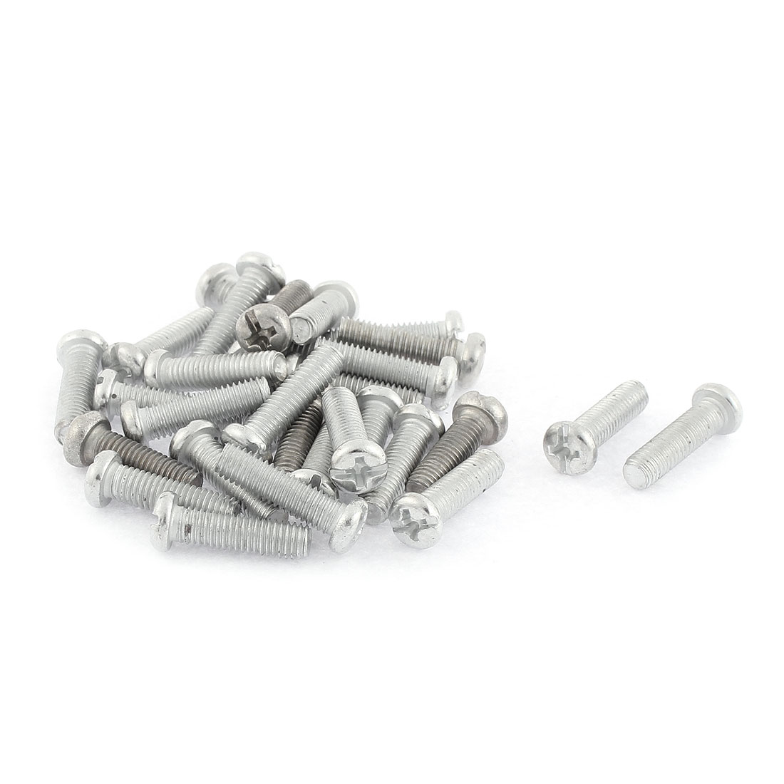 M5 x 20mm Kitchenware Pot Pan Round Head Mounting Phillips Screws 30 Pcs
