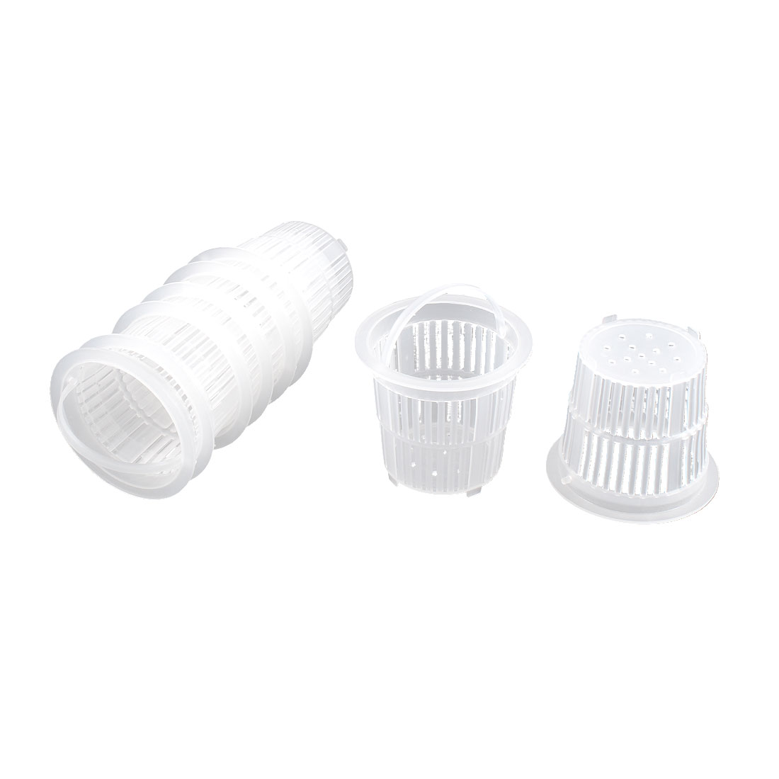 Kitchen Sink Plastic Drainer Strainer Garbage Stopper Filter Basket 8 Pcs