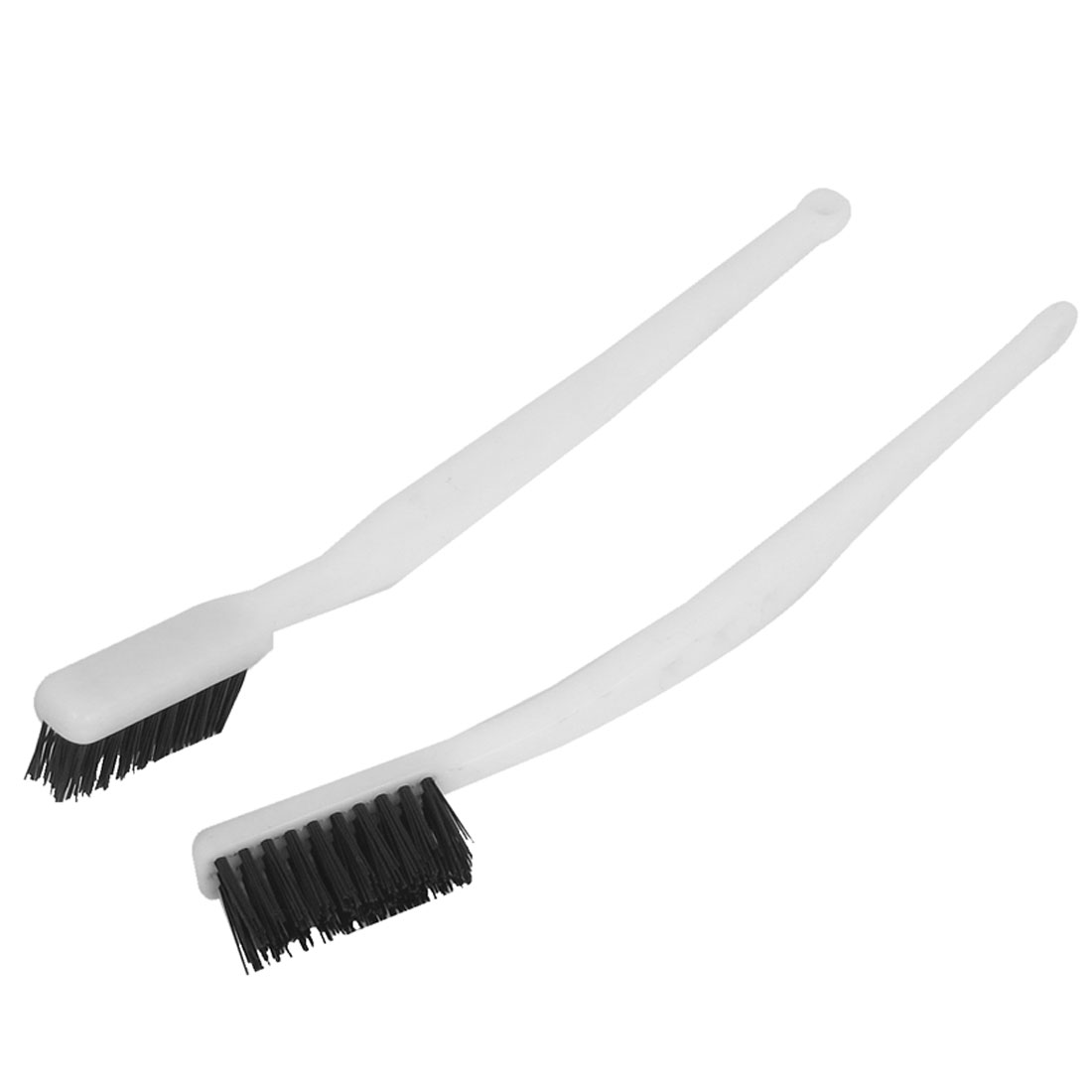 Plastic Handle Nylon Wire Cleaning Tooth Brush 2pcs