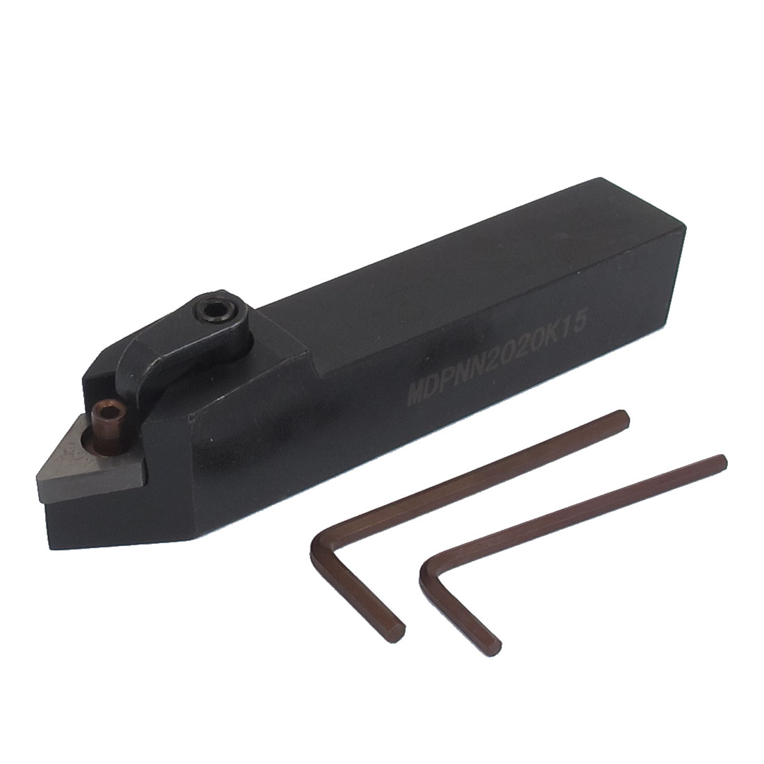 MDPNN2020K15 20mmx20mm Square Shank CNC Lathe External Threading Turning Tool Holder 125mm Long