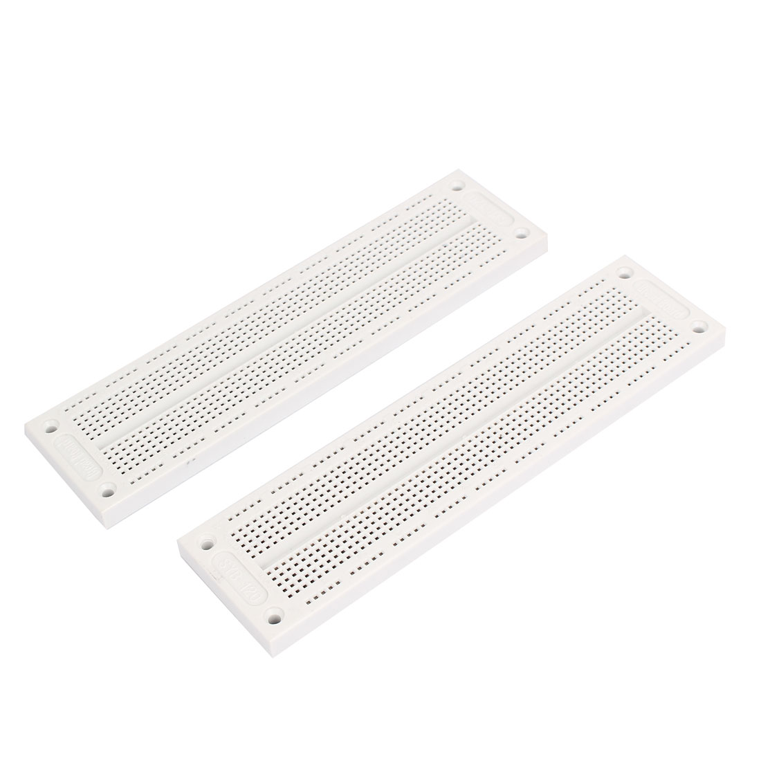 2Pcs SYB-120 Solderless Prototype 700 Tie Points Breadboard 178mm x 47mm x 9mm